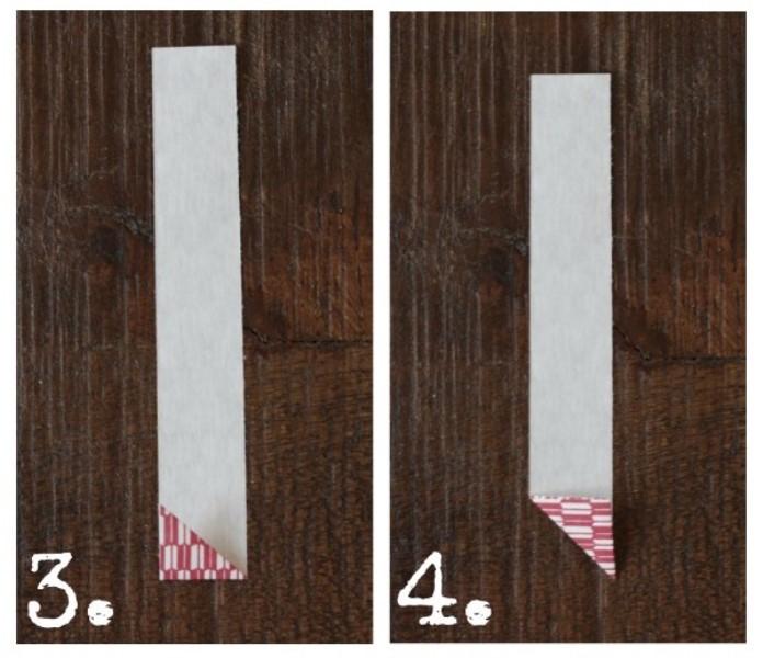 Как сделать гирлянду из бумаги в виде сердечек?