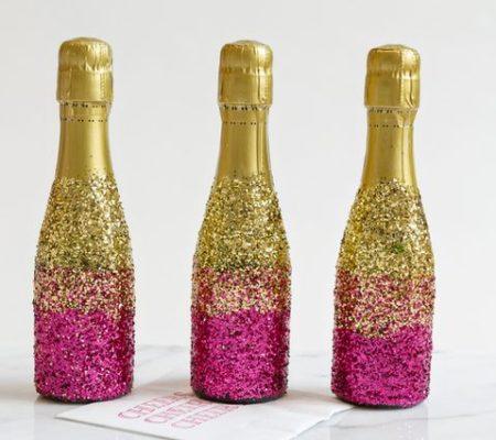 Как украсить шампанское своими руками 602