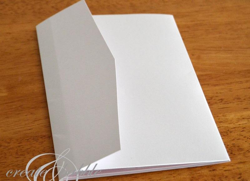 Основа конверта для денег