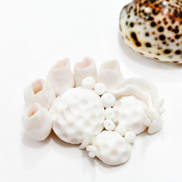Кораллы из полимерной глины своими руками