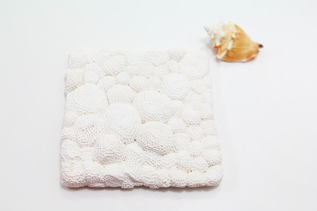 Коралл из полимерной глины-композиция с круглыми кораллами