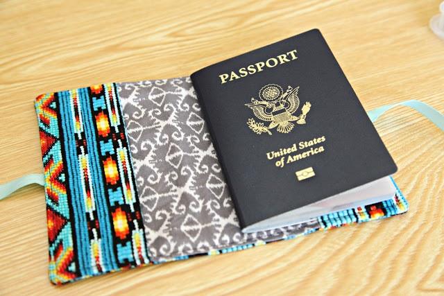 Обложка на паспорт готова