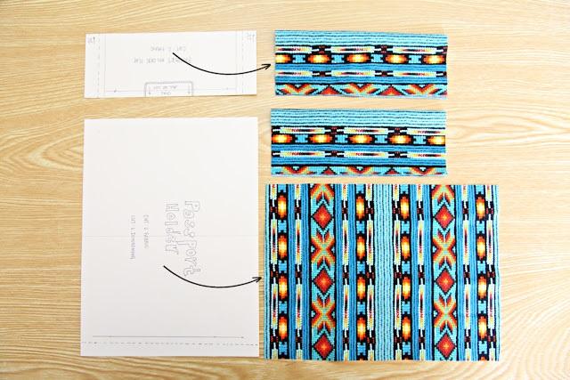 Детали обложки на паспорт