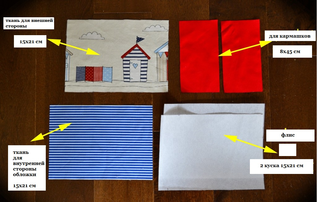 Материалы для обложки на паспорт