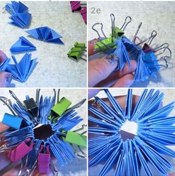 Оригами сова-сформируйте нулевой ряд