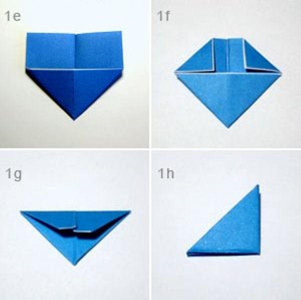 Оригами сова-изготовьте модуль