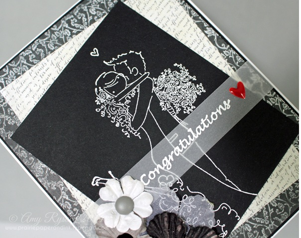Открытка на свадьбу готова