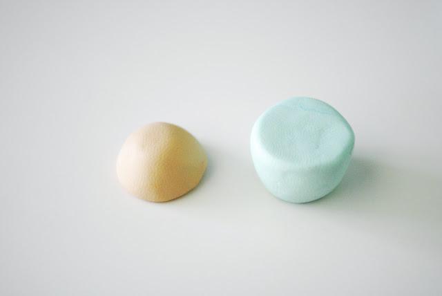 Пирожное из полимерной глины-сделайте основу