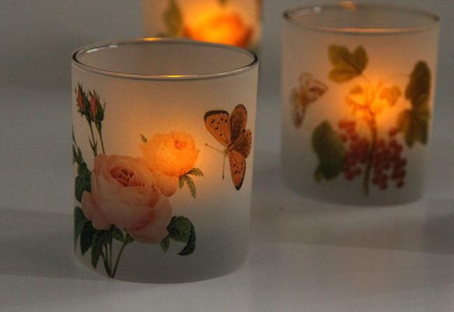 Свечи на свадьбу-полумрак со свечой