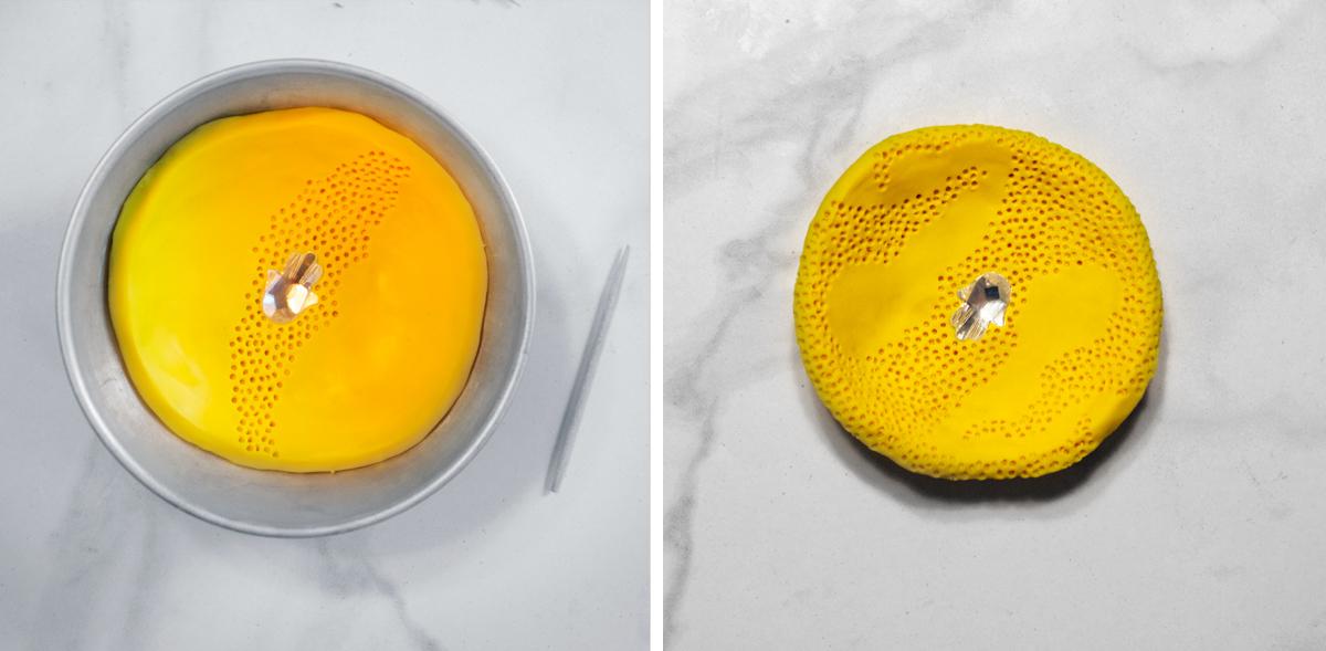 Тарелки из полимерной глины-прорисуйте текструру