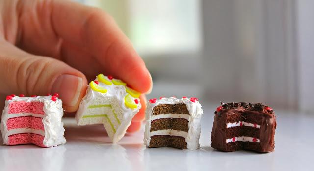 Тортики из полимерной глины-виды тортиков