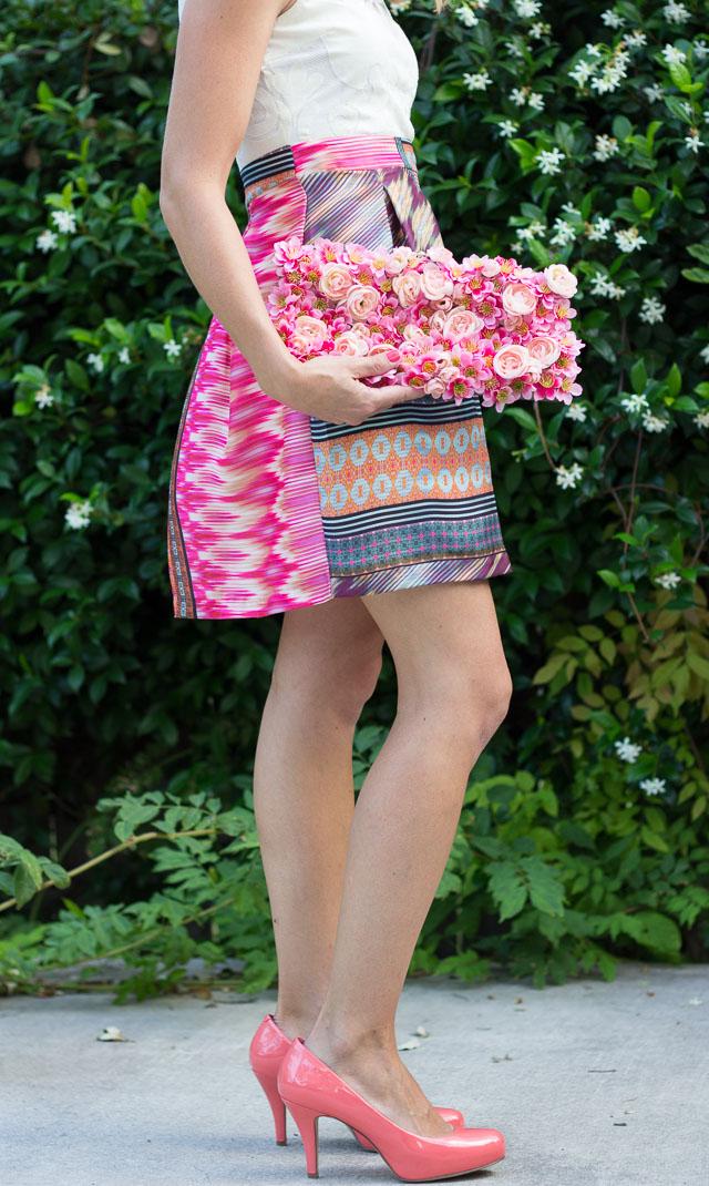 Украшение сумочки цветами своими руками