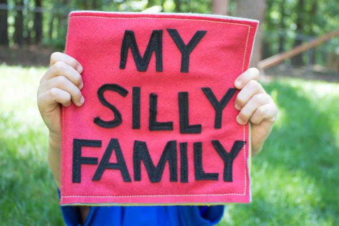 Фотоальбом из фетра для всей семьи