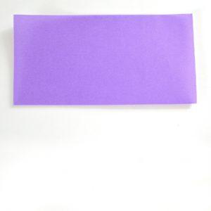 Абажур оригами-сложите квадрат по горизонтали