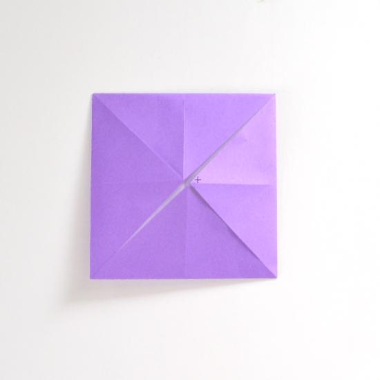 Абажур оригами-заверните все углы