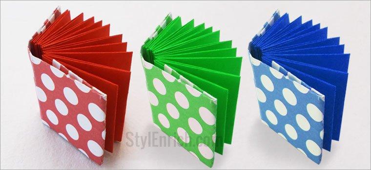 Блокнот оригами своими руками