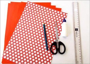 Блокнот оригами-материалы
