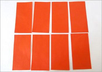 Блокнот оригами-разрежьте бумагу пополам