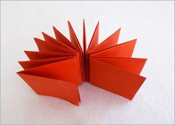 Блокнот оригами-склейте страницы