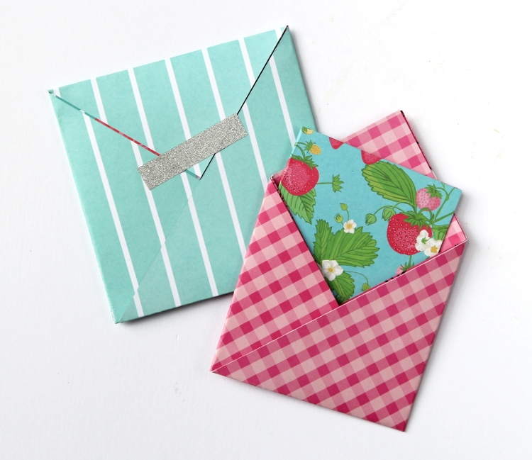 Конверт оригами своими руками