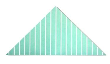 Конверт оригами-сложите по диагонали
