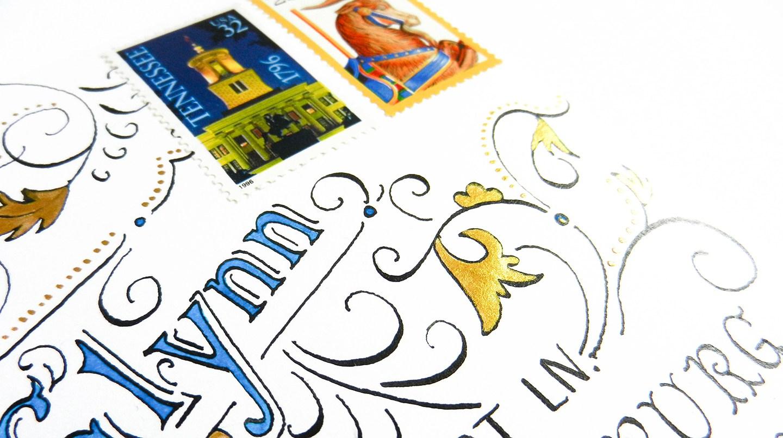 Красивое оформление письма-добавьте красок