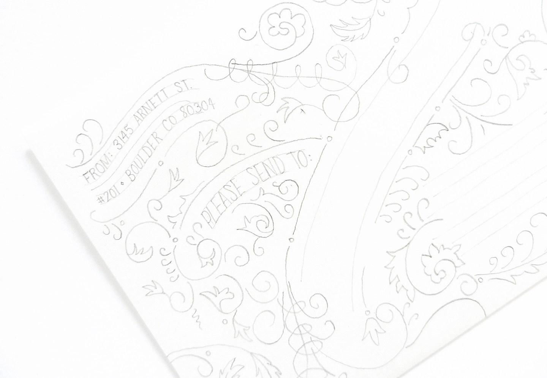 Красивое оформление письма-добавьте пожелания