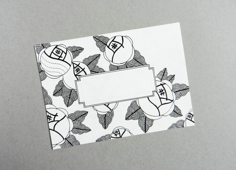 Красивый конверт из бумаги-распечатайте шаблон