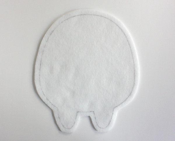 Монстрики из фетра-возьмите 1 деталь для тела