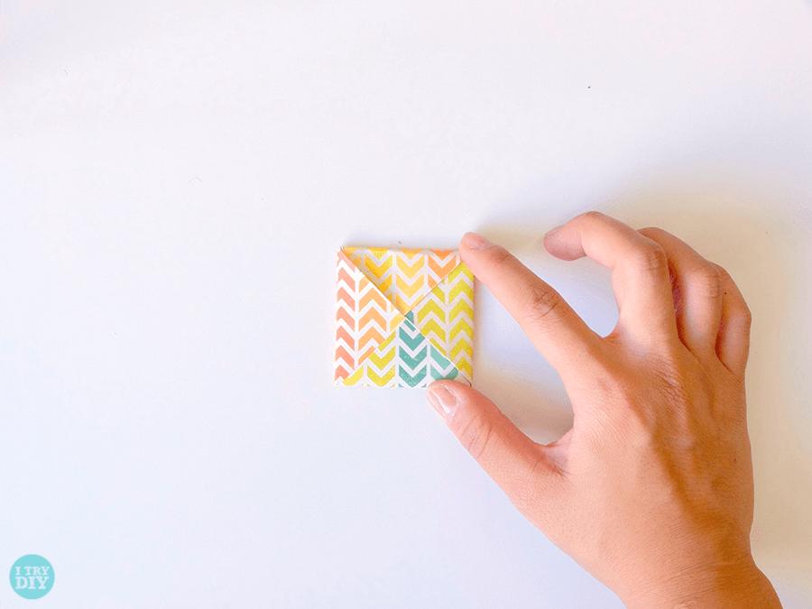 Конверт оригами в двойным дном своими руками