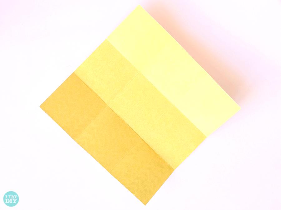 Конверт оригами-расправьте углы