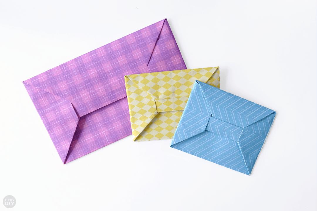Оригами конверт для денег своими руками