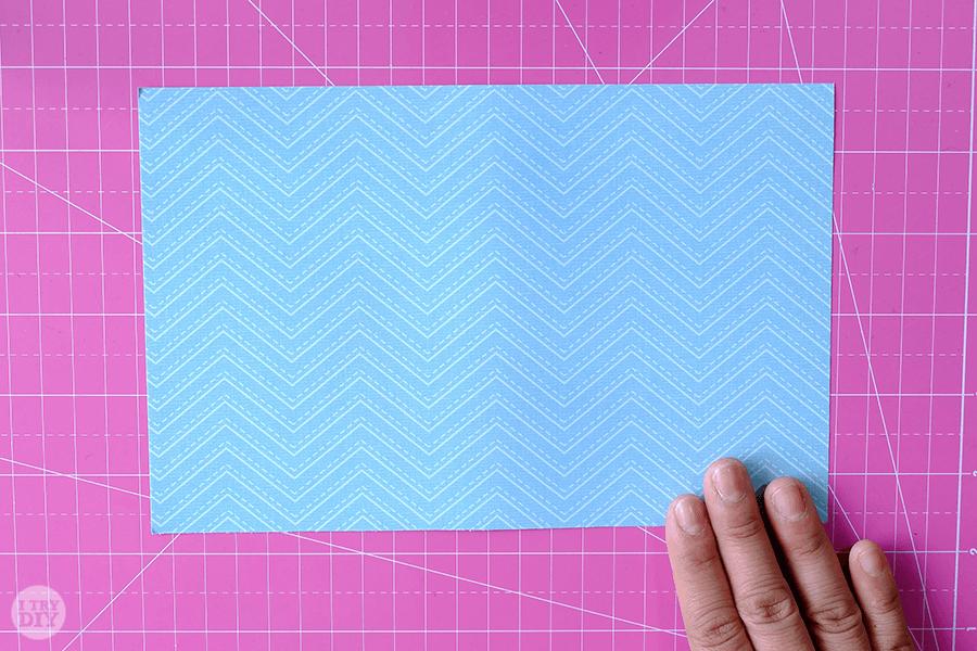 Оригами конверт для денег-возьмите лист