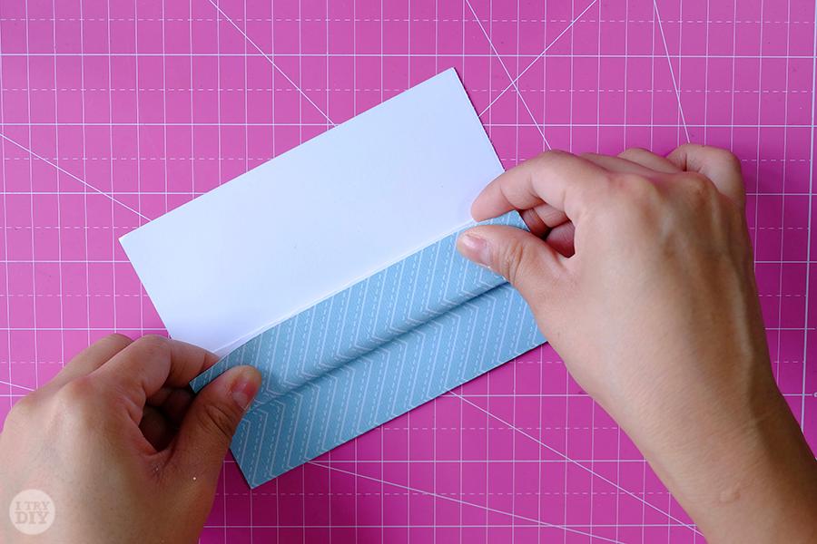 Оригами конверт для денег-сложите в 8 раз