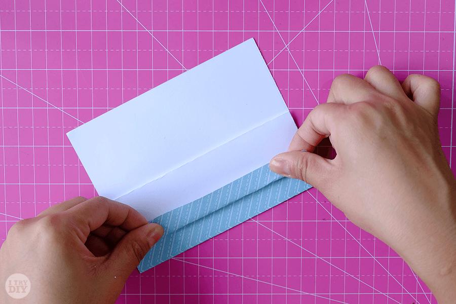 Оригами конверт для денег-сложите в 16 раз