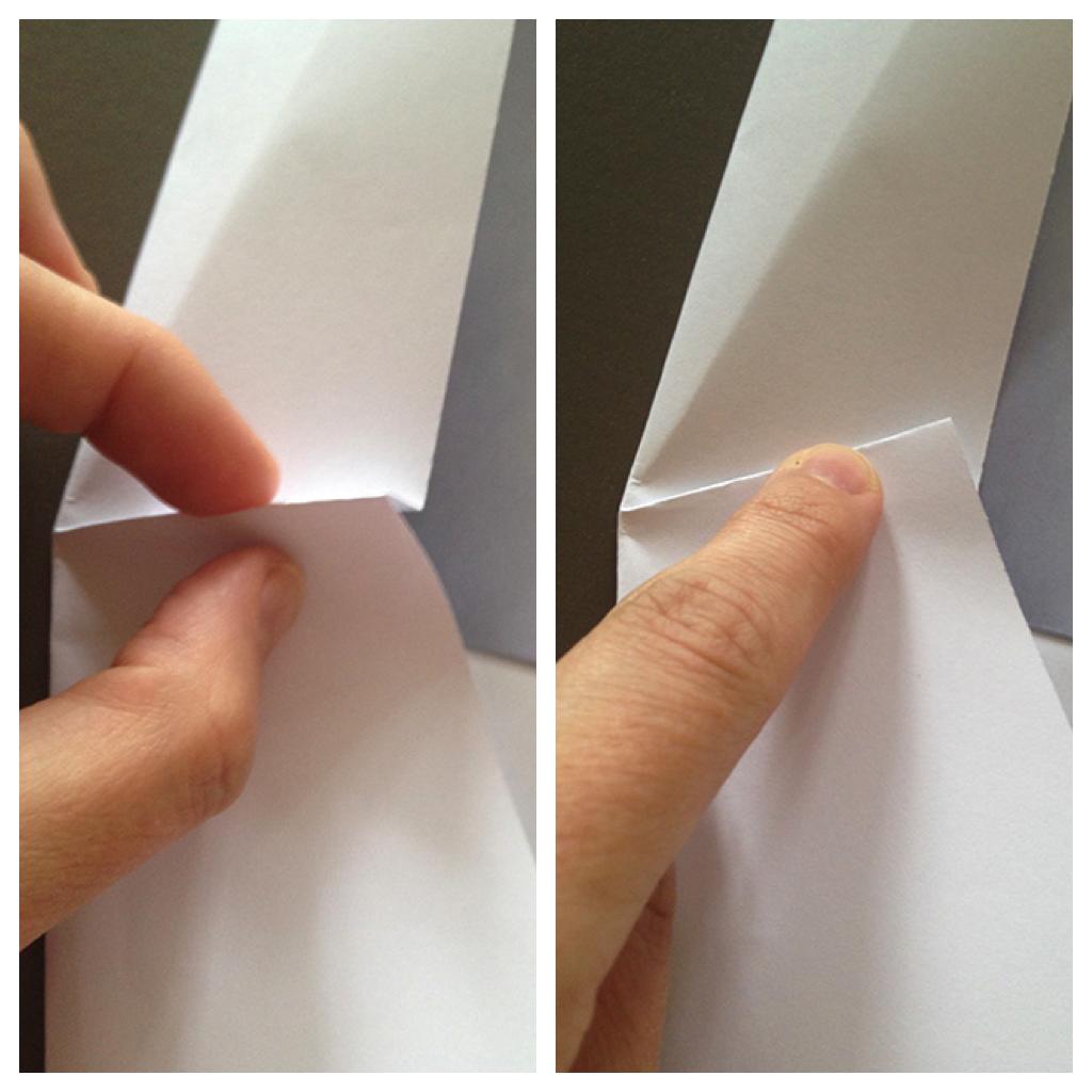 Оригами конверт с сюрпризом-сделайте складку