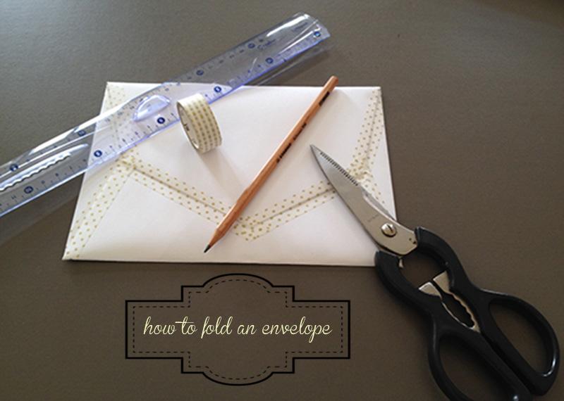Оригами конверт с сюрпризом-1