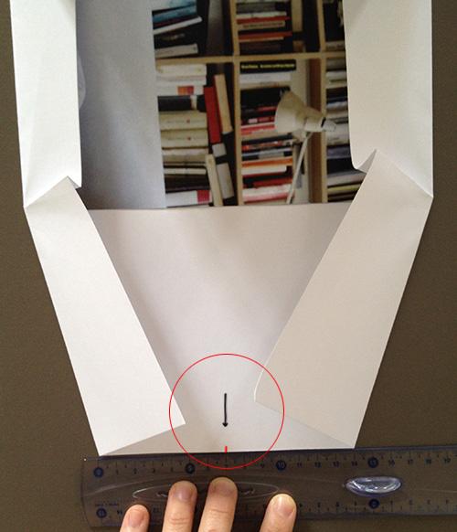 Оригами конверт с сюрпризом-сделайте складки