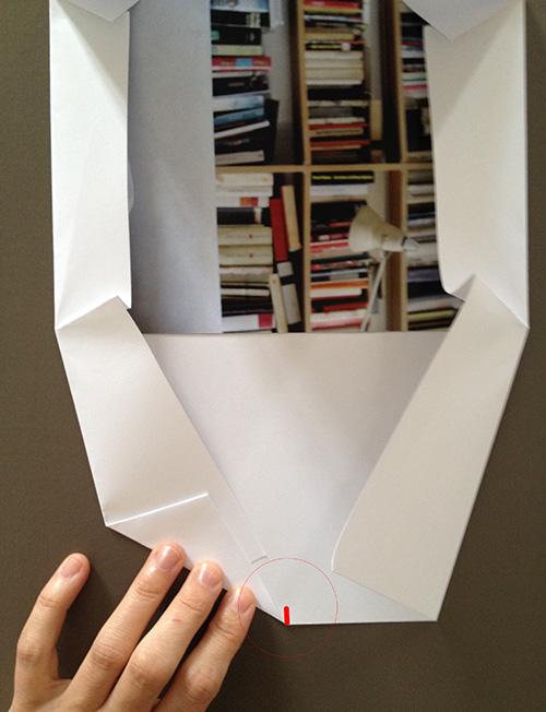 Оригами конверт с сюрпризом-сделайте дополнительные складки