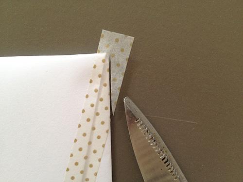 Оригами конверт с сюрпризом-обрежьте концы ленты