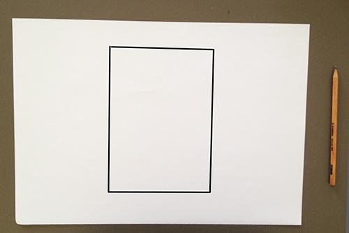 Оригами конверт с сюрпризом-вложение обведено