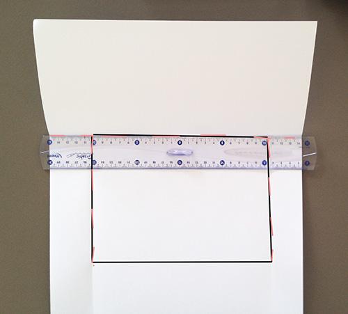 Оригами конверт с сюрпризом-загните бумагу вверх