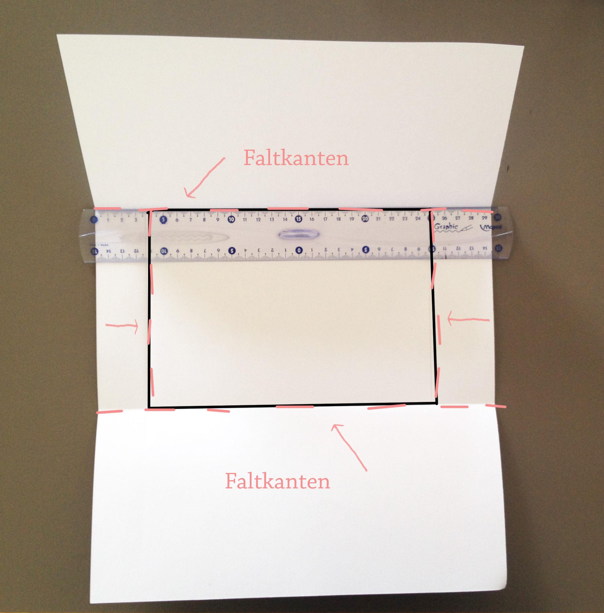 Оригами конверт с сюрпризом-загните бумагу с 4 стороны