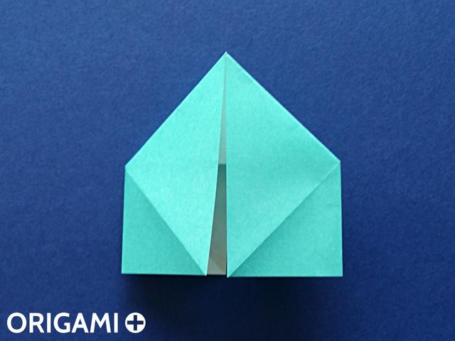 Оригами рибка-приплюсните поделку