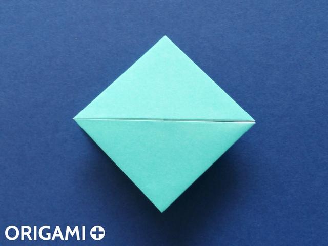 Оригами рибка-переверните поделку