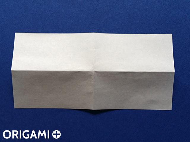 Оригами рибка-переверните бумагу