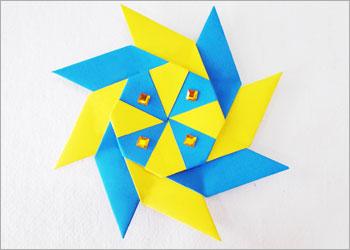 Оригами звезда ниндзя своими руками