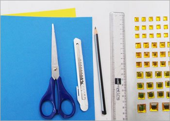 Оригами звезда ниндзя-материалы