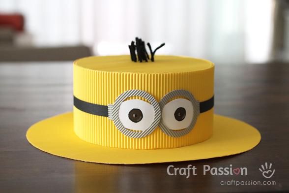 Бумажная шляпа своими руками