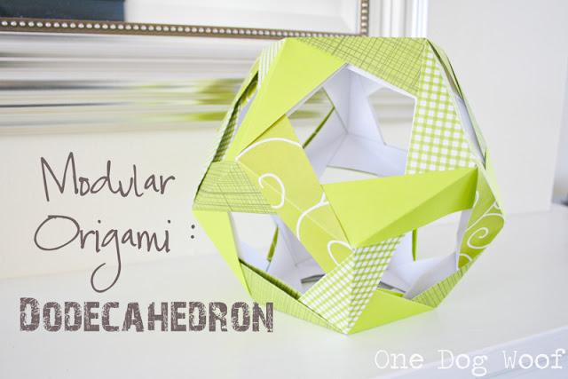 Шар оригами из модулей своими руками